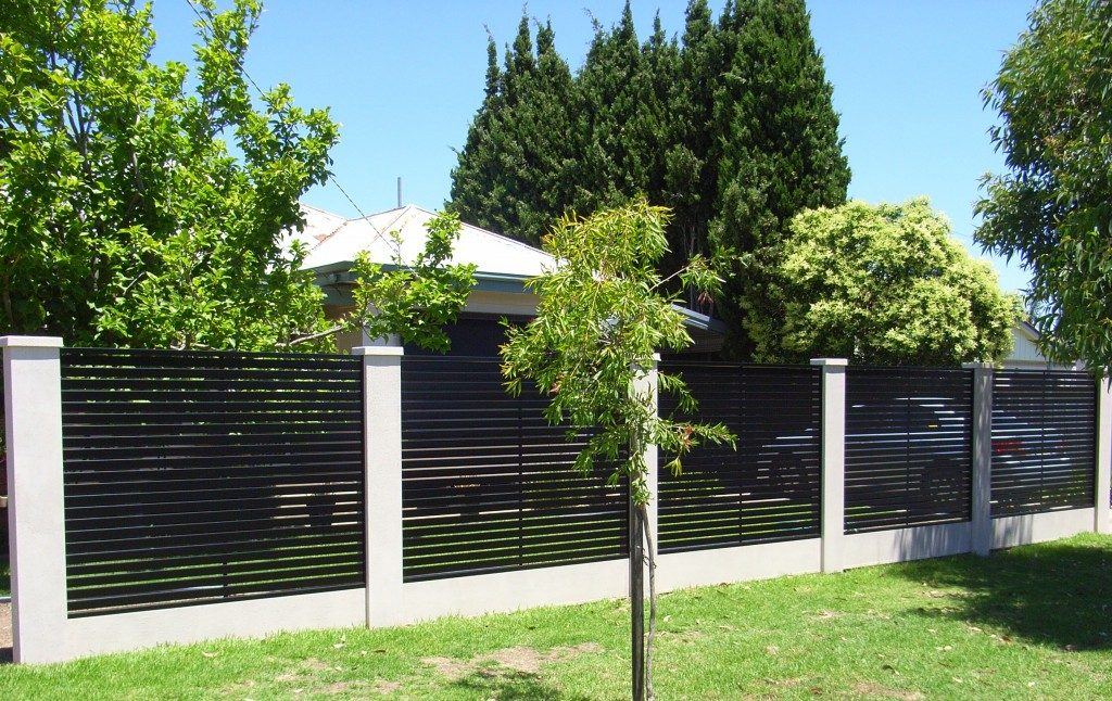 Colorbond Slatted Privacy Screening