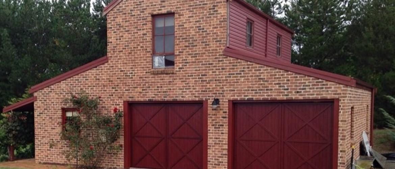 Custom Made Aluminium Slatted Doors